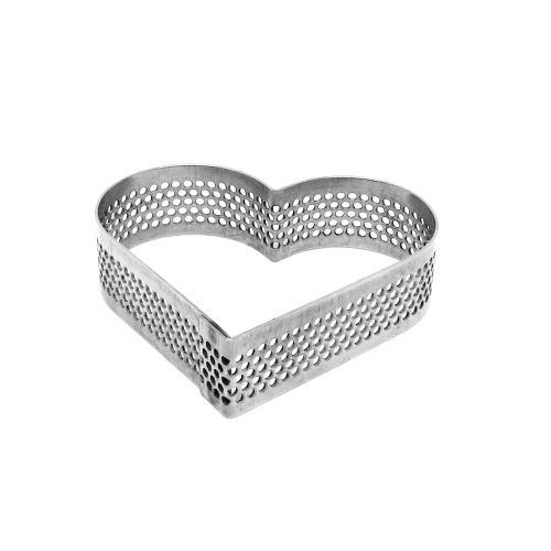 Aro Perfurado Coração (8,0 x 7,0cm) - Doupan