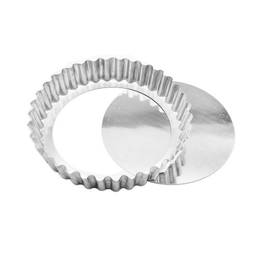 Forma para Torta Crespa Fundo Removível (22 x 4cm) - Caparroz