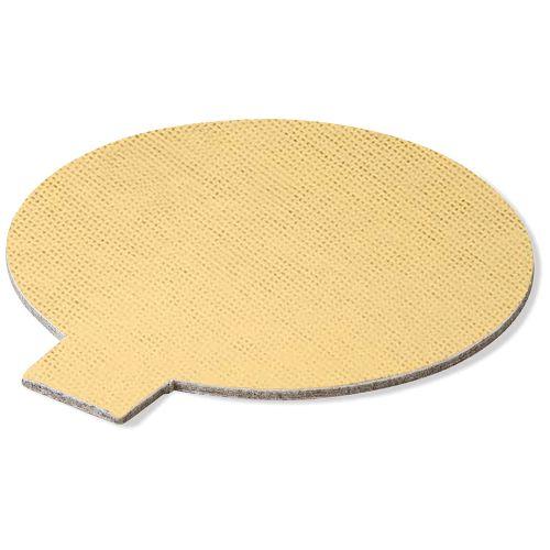 Base Laminada Redonda Dourada para Doces 10,0cm (25uni)