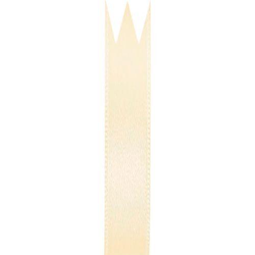Fita Cetim Simples Creme (0,7cm x 10m) - Progresso