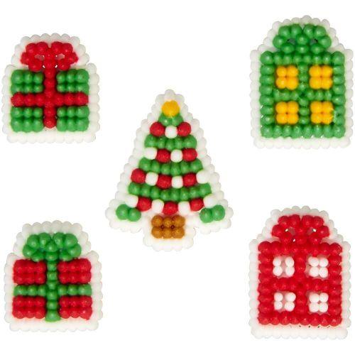 Confeito em Açúcar Presentes de Natal (24uni) - Wilton