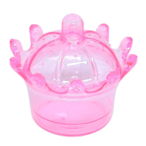 Embalagem Coroa para Doces (10 uni) - Rosa