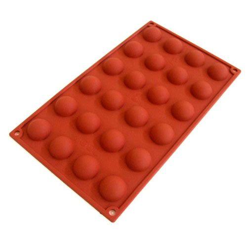 Mono Porção Mini Half Sphere - Silikomart