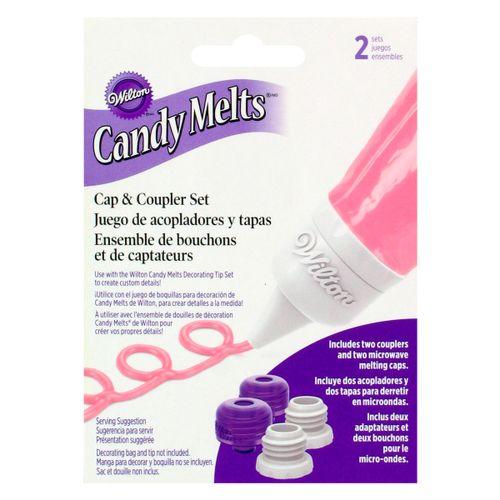 Adaptador para Bicos Candy Melts Cap & Coupler Set - Wilton