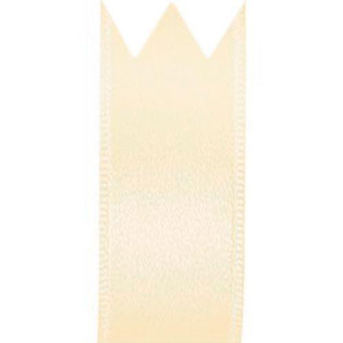 Fita Cetim Simples Creme (2,2cm x 10m) - Progresso