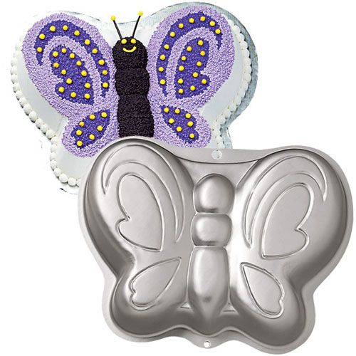 Assadeira Bolo de Borboleta Butterfly Pan - Wilton