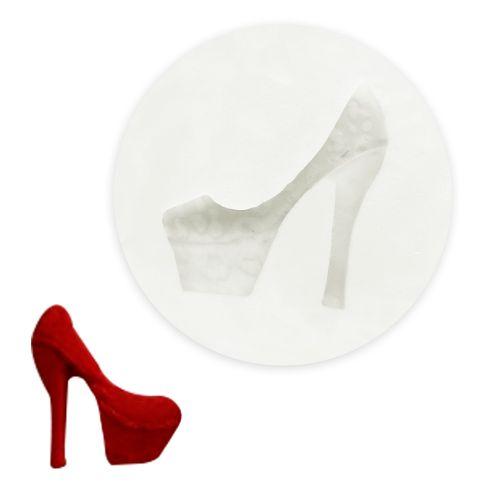 Molde de Silicone Sapato Plataforma - Gummies
