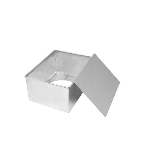 Forma Retangular Fundo Falso - 20 x 15 x 10cm
