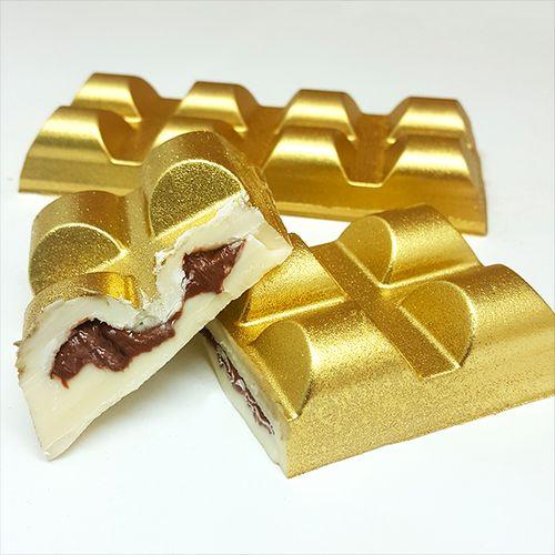 Forma de Chocolate em Acetato com SiliconeTablete/Barra Aerado 150g - BWB