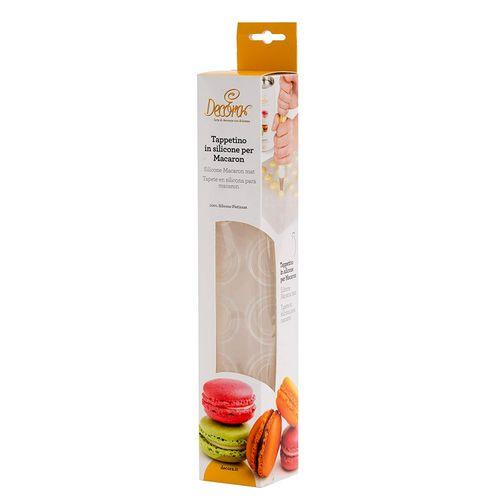 Tapete de Silicone para Macarons (30 x 40cm) - Decora