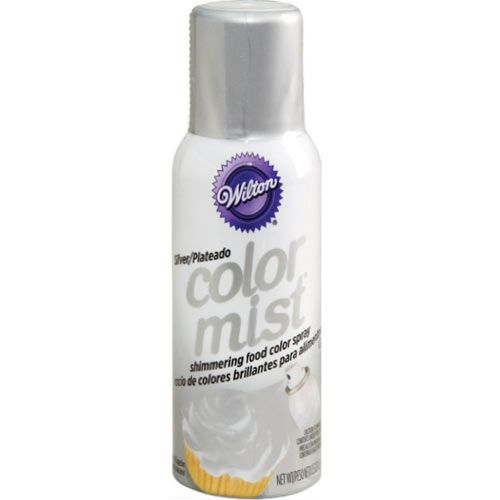 Color Mist Food Color Spray Silver - Wilton
