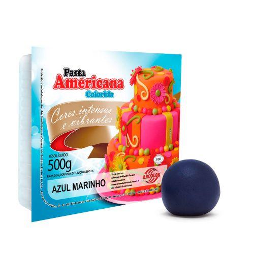 Pasta Americana Marinho 500g - Arcolor