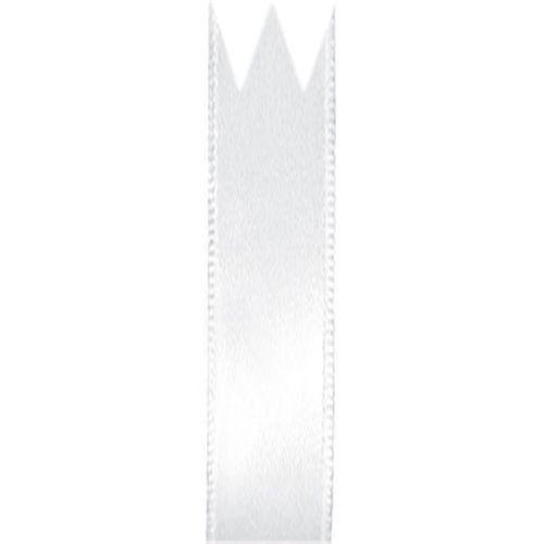 Fita Cetim Simples Branco (1,0cm x 10m) - Progresso