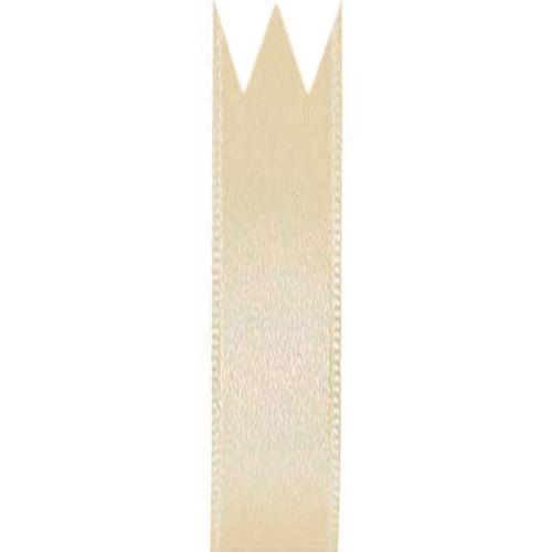 Fita Cetim Simples Bege (1,0cm x 10m) - Progresso