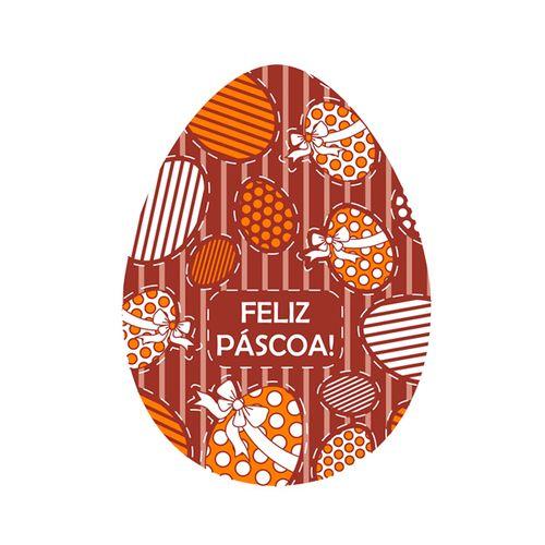 Blister Ovo de Páscoa 350g - Feliz Páscoa