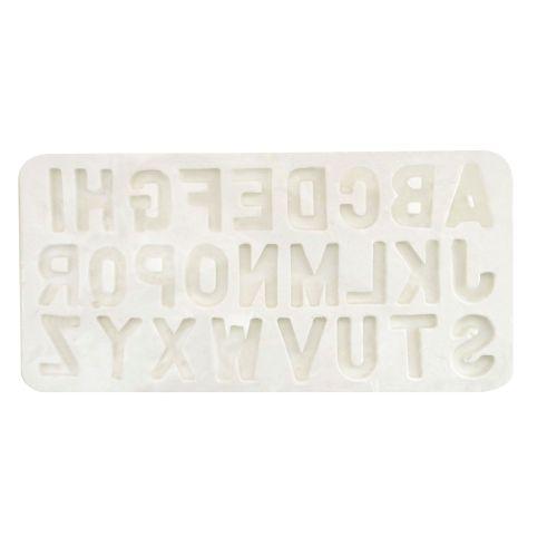 Molde de Silicone Letras Grandes - Gummies