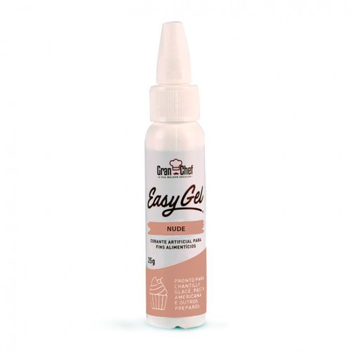 Corante Easy Gel (25g) Nude - Gran Chef