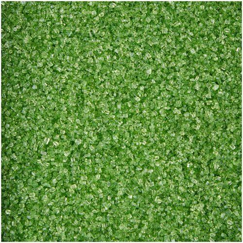 Açúcar Verde Folha Brilhante (70g) - Wilton