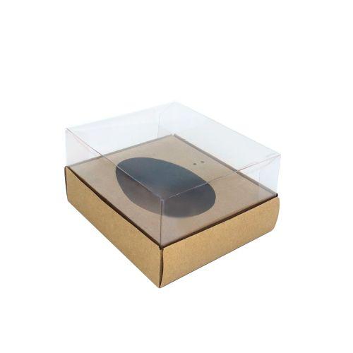 Caixa Ovo de Colher 50g Kraft (10uni) - ArtCrystal