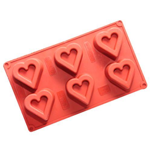 Forma em Silicone Mini Ballerine Coração - Cimapi