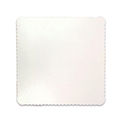 Base para Bolo Cakeboard Quadrada Branca 28cm (10uni) – Ultrafest
