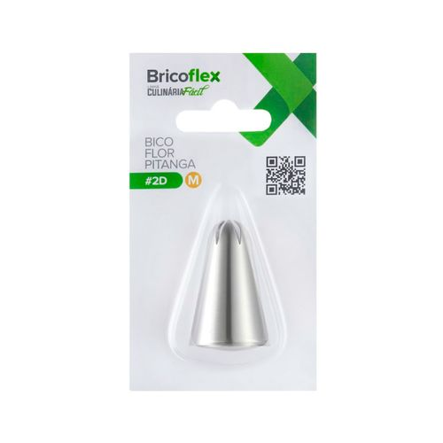 Bico de Confeitar Pitanga Médio nº 2D -Bricoflex
