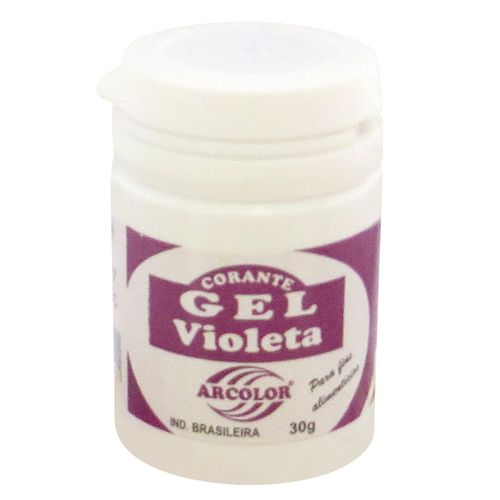 Corante gel Arcolor 30ml - Violeta