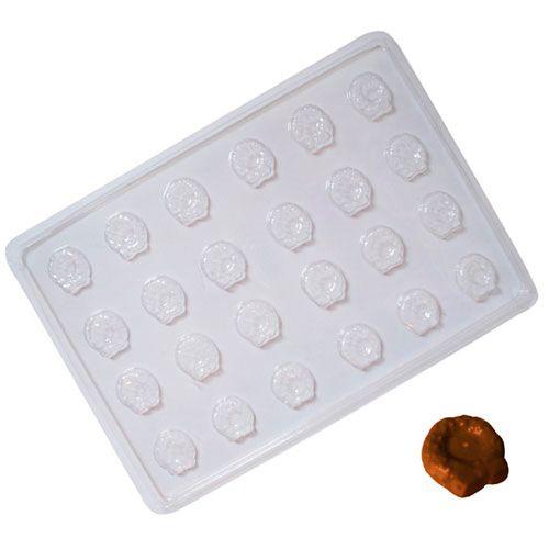 Forma para Chocolate em PVC - Mini Guirlanda (5 uni)
