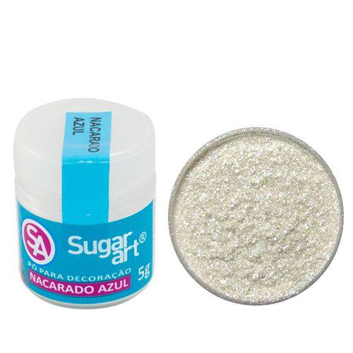 Corante em Pó 5g Sugar Art - Nacarado Azul