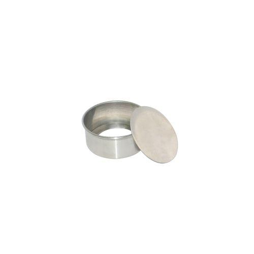 Forma de Bolo Redonda Fundo Falso (11 x 7cm) - Doupan