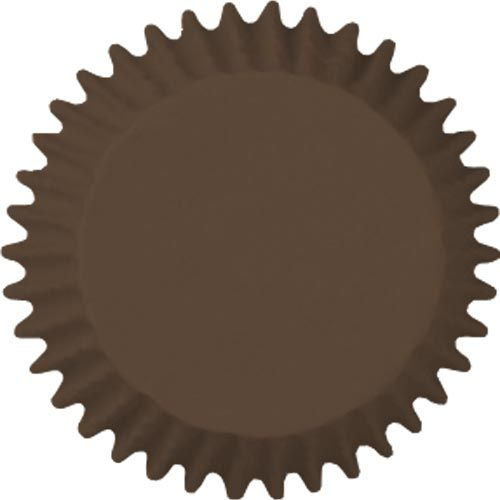 Forminha para Mini Cupcake Mago (45uni) - Marrom
