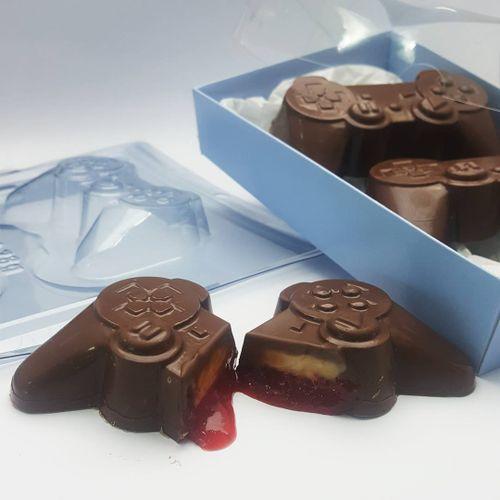 Forma de Chocolate Acetato com Silicone Joystick - BWB