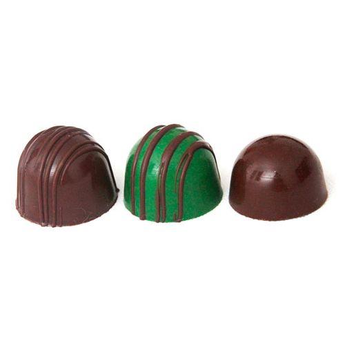 Forma de Chocolate Silicone Trufa Grande - BWB
