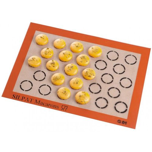 Silpat Tapete Silicone Macarons 3,5cm (28 Moldes) - Demarle