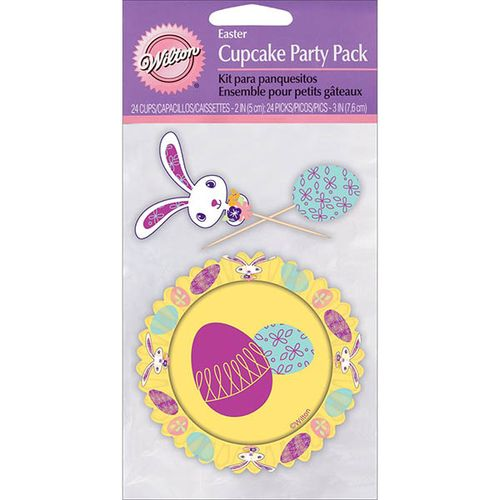 Kit Cupcakes Ovos e Coelhinhos de Páscoa - Wilton