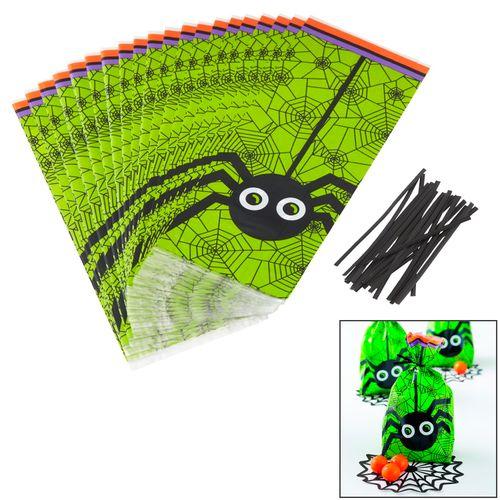 Halloween Spider Treat Bags - Wilton