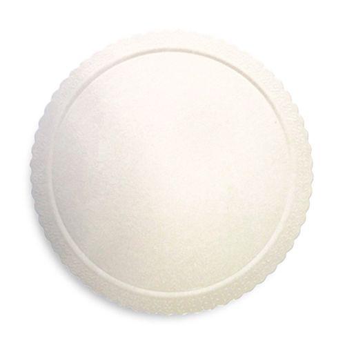 Base para Bolo Cakeboard Redonda Branca 32cm (10uni) – Ultrafest