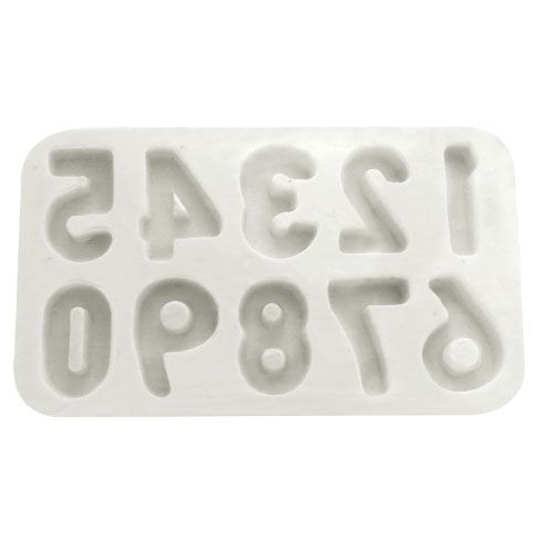 Molde de Silicone Números - Gummies