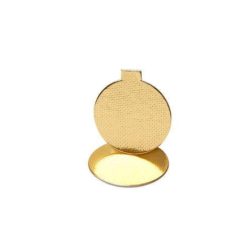 Base Laminada Redonda Dourada para Doces 3,2cm (25uni)
