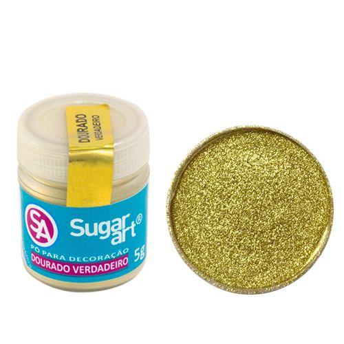 Corante em Pó 5g Sugar Art - Ouro/Dourado