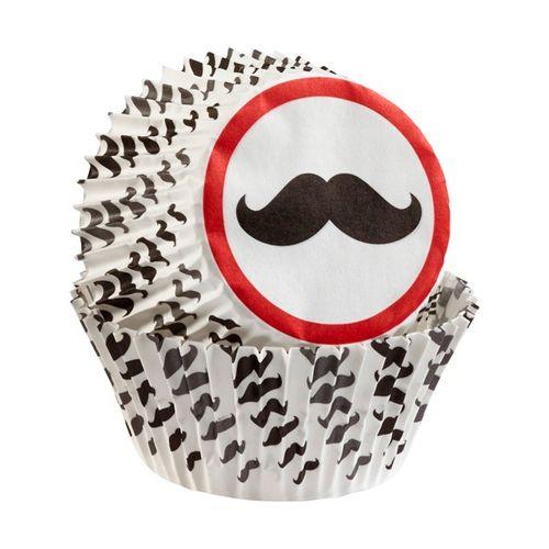 Kit para Decorar Cupcakes Bigode - Wilton