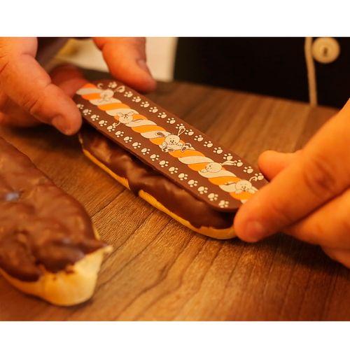 Tapete de Silicone para Eclair Bomba de Chocolate - Stalden