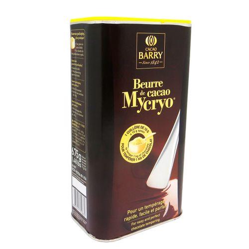 Mycryo Cacao Barry Manteiga de Cacau (675g) - Callebaut