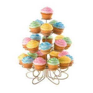 Suporte e Expositor para 24 Mini Cupcakes - Wilton