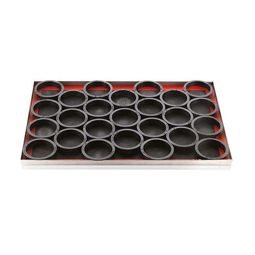Kit Forma e Tarte Ring Redondo 8 x 2cm - Silikomart