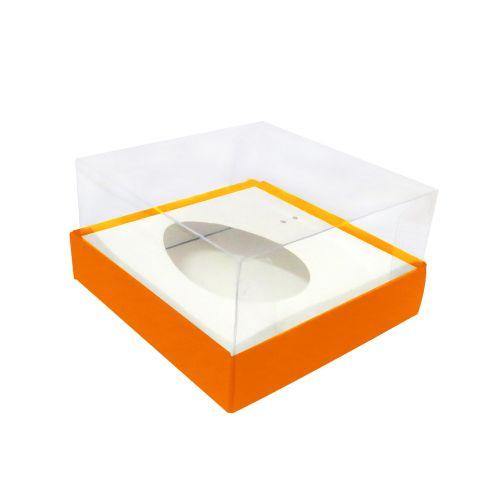 Caixa Ovo de Colher 100/150g Laranja (10uni) - ArtCrystal