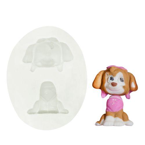 Molde de Silicone Patrulha Canina Skye - Gummies