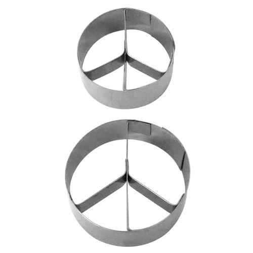 Kit Cortadores Símbolo da Paz - RM