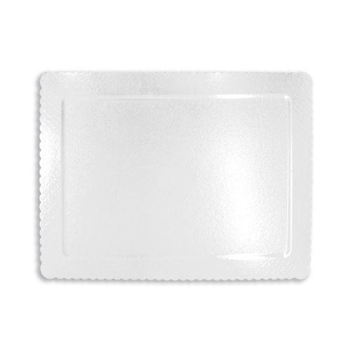 Base para Bolo Cakeboard Retangular Branca 40 x 30cm (10uni) – Ultrafest
