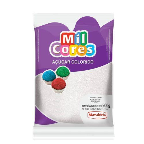 Açúcar Branco para Decoração (500g) - Mil Cores